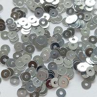 Паєтки Італія плоскі 2мм 2г Metall  M1
