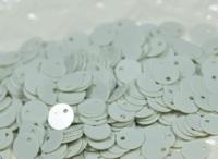 Паєтки круглі зі зміщеним центром 6мм Pale Pastel