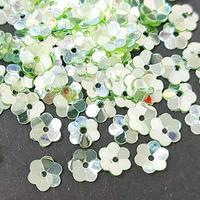Паєткі фігурні 5мм Квітка 5г Flower 5114