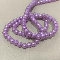 Перлини скляні 4мм  Glass Pearl04 №2
