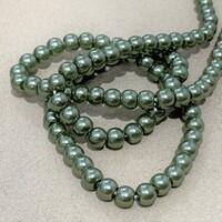 Перлини скляні 4мм  Glass Pearl04 №4