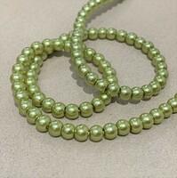 Перлини скляні 4мм  Glass Pearl04 №5