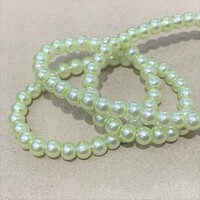 Перлини скляні 4мм  Glass Pearl04 №7
