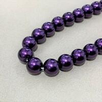 Перлини скляні 8мм 20шт Glass Pearl08 №3