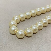 Перлини скляні 8мм 20шт Glass Pearl08 №11