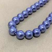 Перлини скляні 8мм 20шт RB015-8