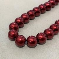 Перлини скляні 8мм 20шт RB038-8