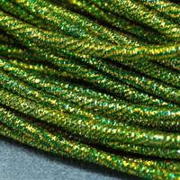 Канітель пружна Mix N17 1.7мм 5г Зелений+Золото