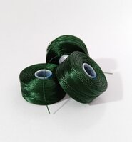 Нитка для бісеру C-Lon size AA Dark Green