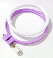П'яльця пластикові 7,5см міні колір Фіолетовий