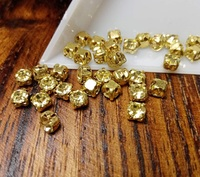 Шатон 4мм колір Jonquil, скло, колір оправи золото