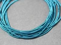 Канітель м'яка гладка Enamel Blue МК-12 1мм 5г