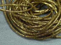 Канитель трунцал Коричневе Золото 1.5mm 5г.