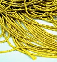 Канітель фігурна кручена MF-04 Золотисто-Жовтий 3г