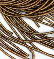 Канітель фігурна кручена MF-25 Античне золото 3г